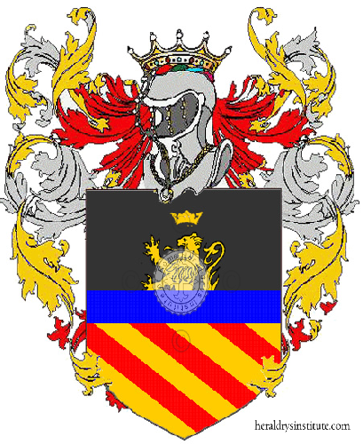 Coat of Arms of family Paliotta