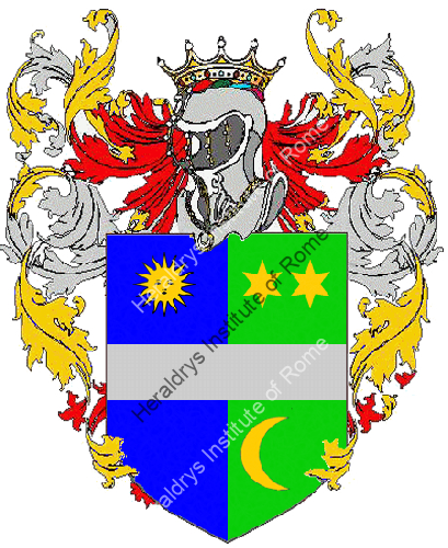 Coat of Arms of family Surante
