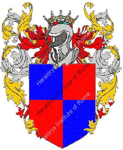 Coat of Arms of family Tovo