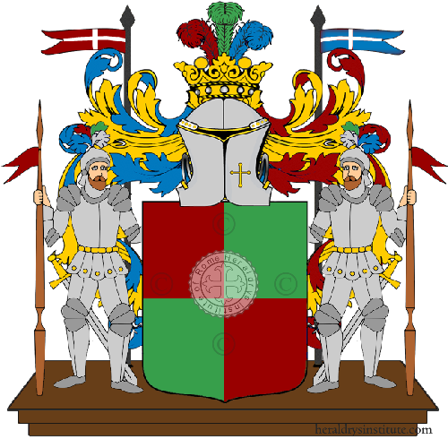Coat of arms of family Perugini