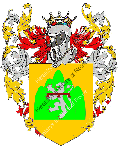 Coat of Arms of family Tordo