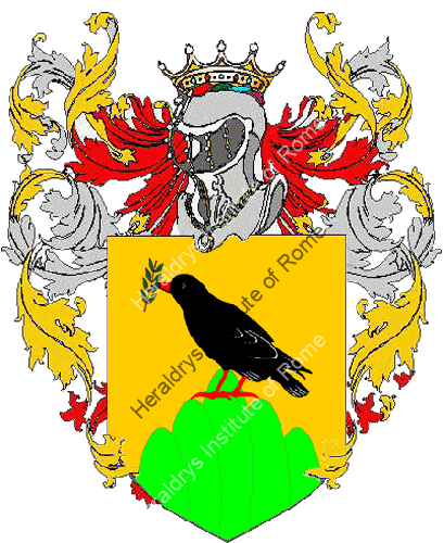 Coat of Arms of family Zecoli