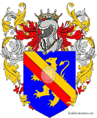 Coat of arms of family Alessandri