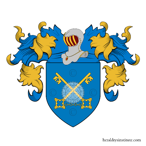 Coat of Arms of family Pietrosi