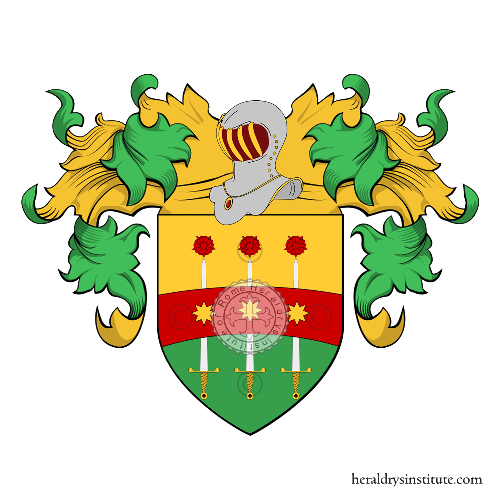 Coat of Arms of family Resciani