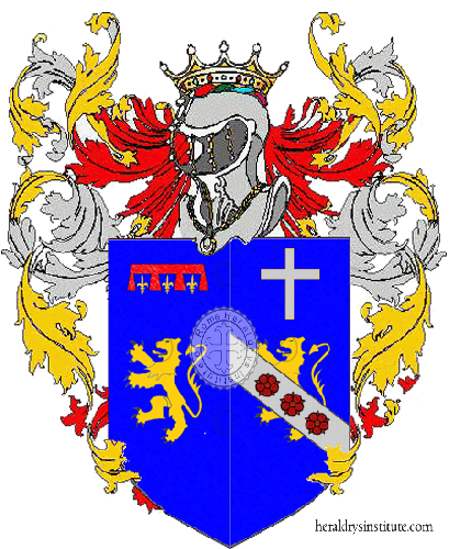 Coat of Arms of family Midolo De Luca