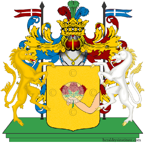 Coat of Arms of family De Maestri