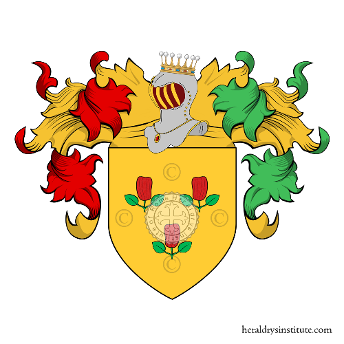 Coat of Arms of family Pepegna