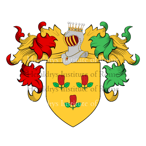 Coat of Arms of family Pepicelli