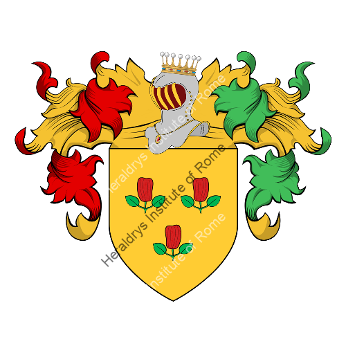 Coat of Arms of family Peppe