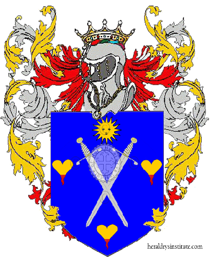 Coat of Arms of family Berther