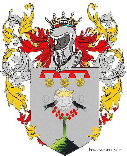 Coat of arms of family Mirandola