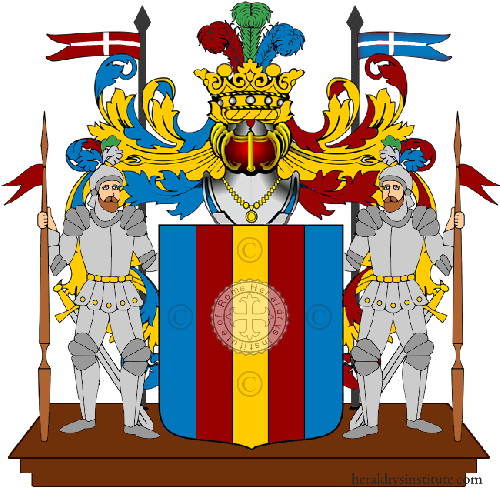Coat of Arms of family Regole