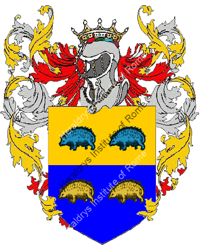 Coat of Arms of family Arezzo