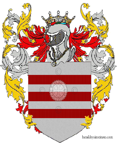 Coat of Arms of family Zarano