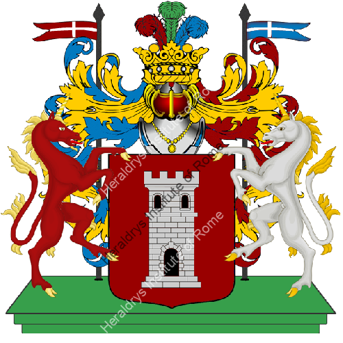 Coat of Arms of family Mortello