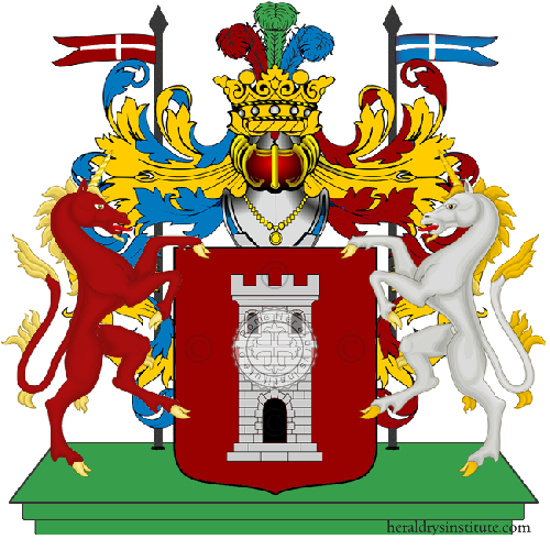 Coat of Arms of family Portea