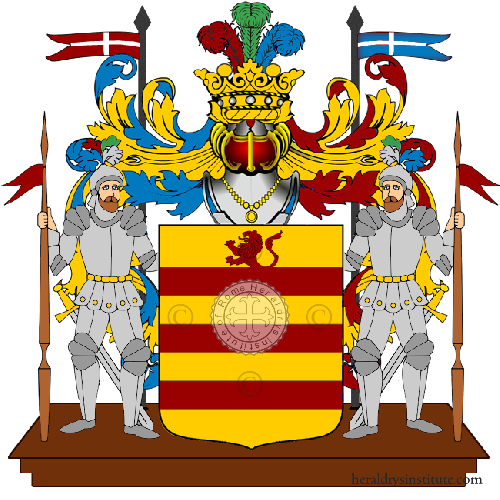 Coat of Arms of family Pugliesere