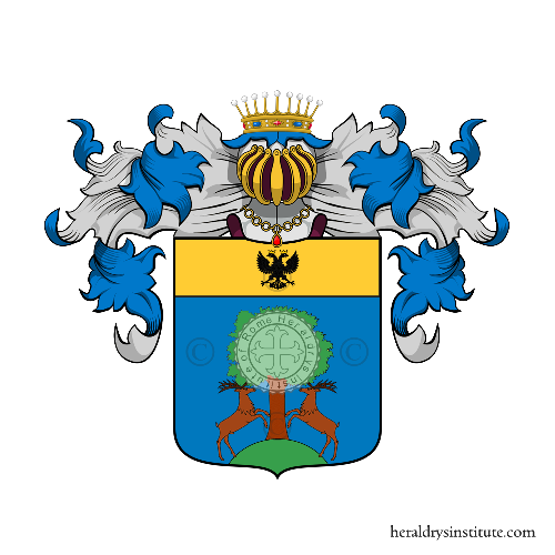 Coat of Arms of family Zeretta