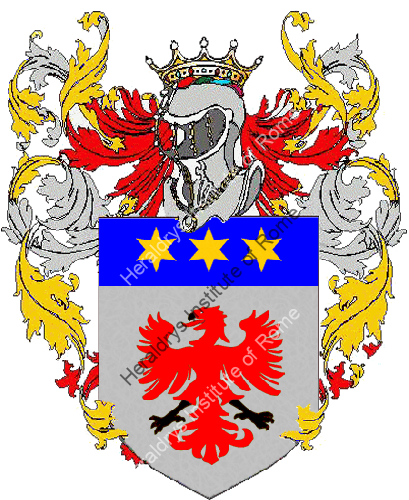 Coat of Arms of family Baldetti