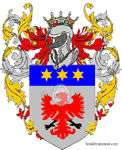 Coat of Arms of family Ebaldi