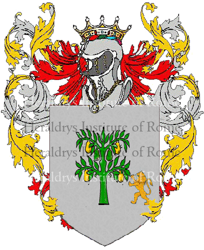 Coat of Arms of family Sperini