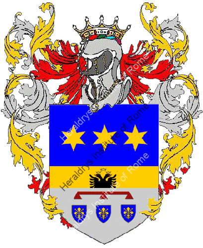 Coat of Arms of family Pascarelle
