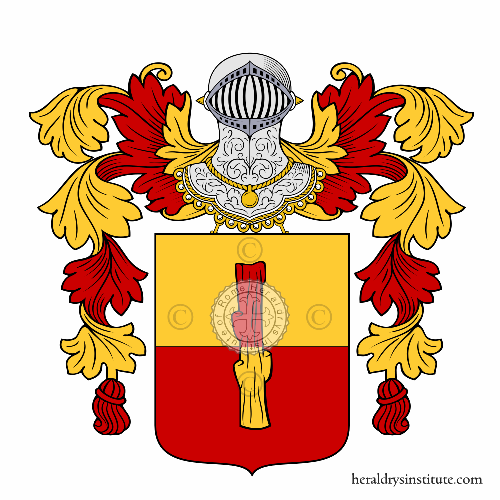 Coat of Arms of family Tosco