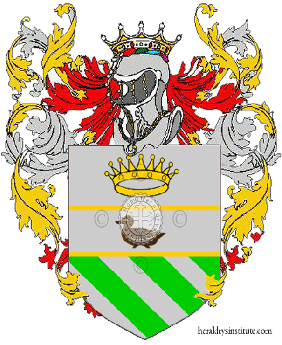 Coat of Arms of family Vasquali