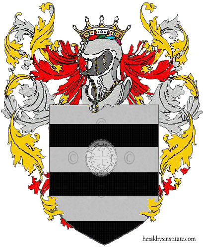Coat of Arms of family Serato
