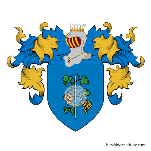 Coat of Arms of family Vitanza