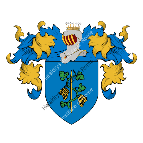 Coat of Arms of family Vitarelli