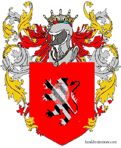 Coat of Arms of family Beccaris