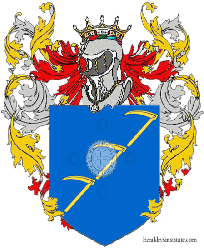 Coat of Arms of family La Fauci