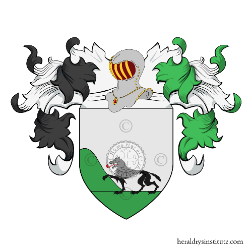 Coat of Arms of family Lovatti