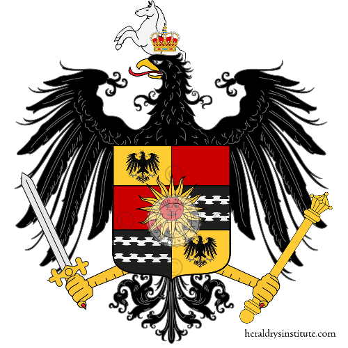 Coat of Arms of family Dell' Orto