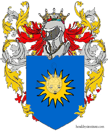 Coat of Arms of family Belgiorno