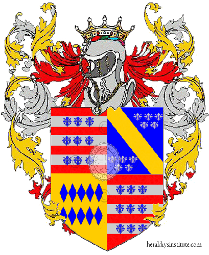 Coat of Arms of family Corcella
