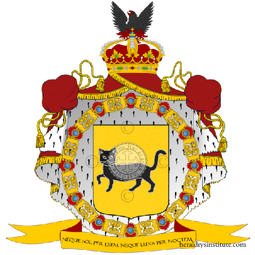 Coat of Arms of family Nonanno
