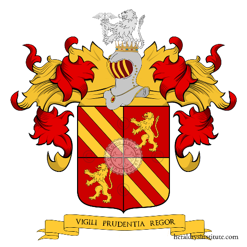 Coat of arms of family Comotto