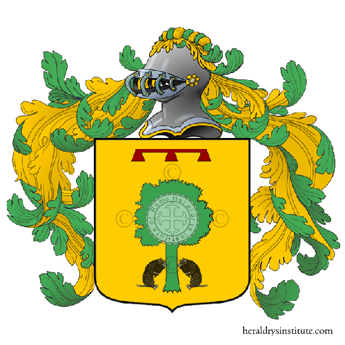 Coat of Arms of family Riglio