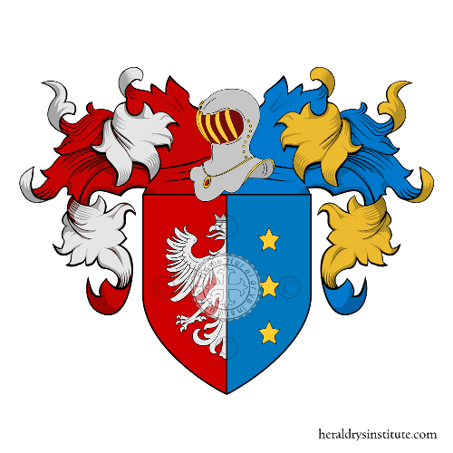 Coat of Arms of family Piazza (della)