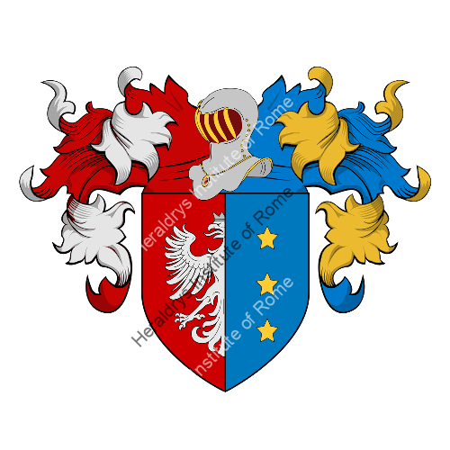 Coat of Arms of family Piazzardi
