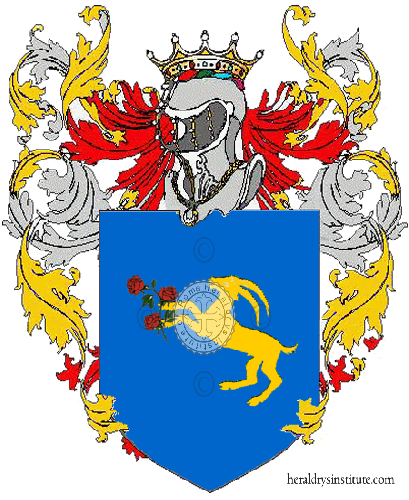 Coat of Arms of family Saccoccio