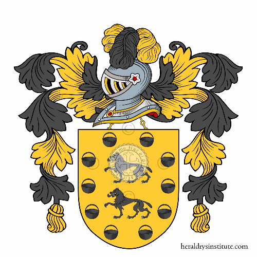 Coat of Arms of family Cia