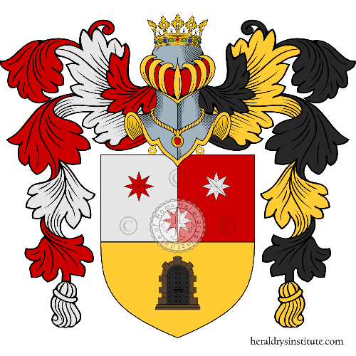 Coat of Arms of family Zucculecchia