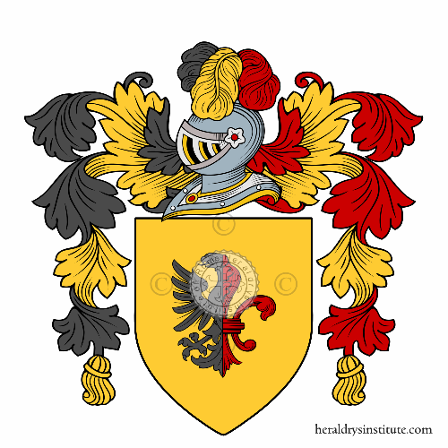 Coat of arms of family Costanzi