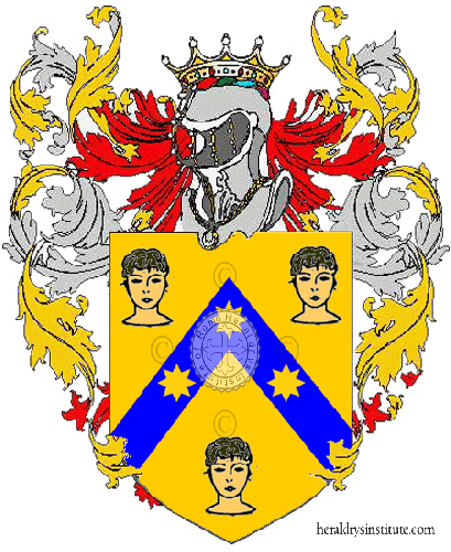 Coat of Arms of family Testieri