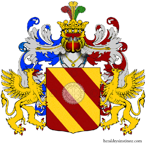 Coat of Arms of family Tostiano