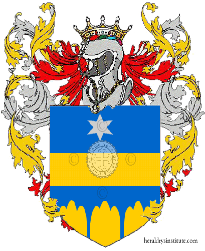 Coat of Arms of family Tramonte